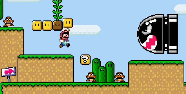 super mario world-blastr